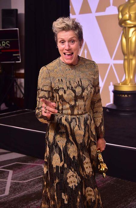 Frances McDormand - beste weibliche Hauptrolle.