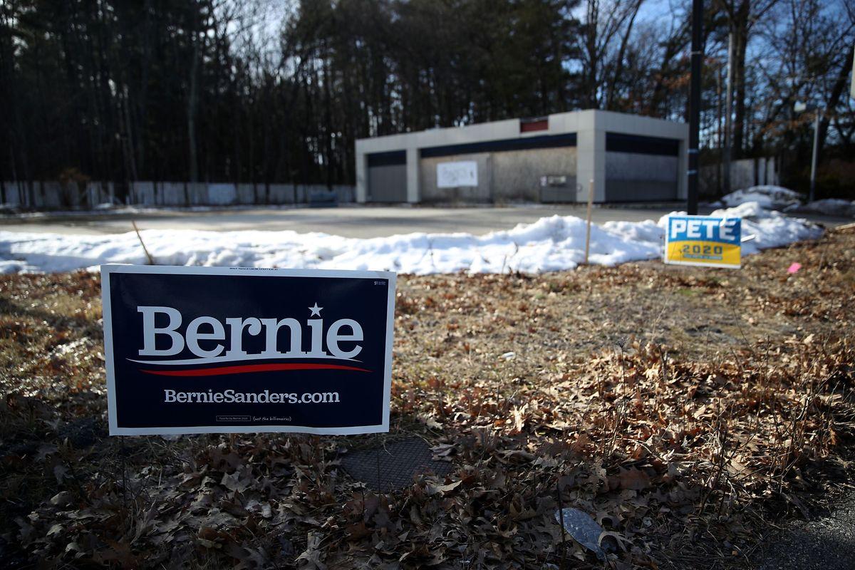 Im US-Bundesstaat New Hampshire gilt Senator Bernie Sanders derzeit als Favorit.