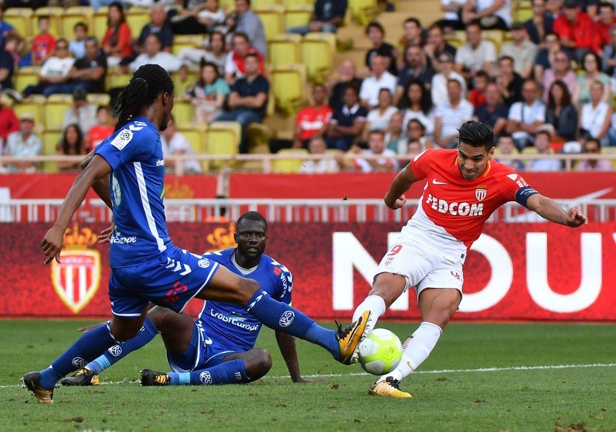 Radamel Falcao a inscrit un doublé contre Lille vendredi, et porté son impressionnant total de buts à onze après sept journées.