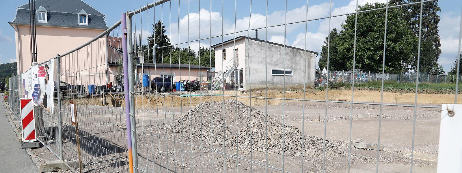Les travaux de la nouvelle crèche de Beckerich à l'arrêt depuis le 25 juin.
