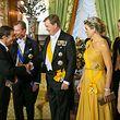taatsbesuch Niederlande - Galadinner im Palais, Foto Lex Kleren