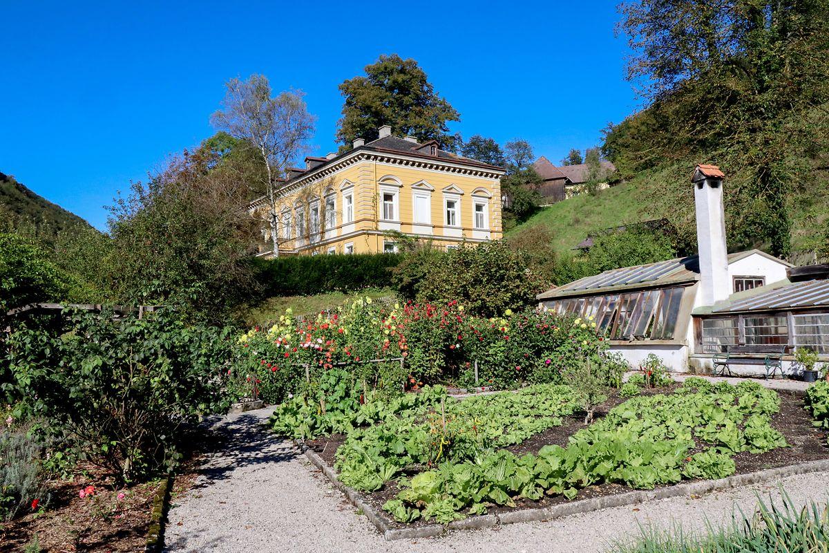 Das Freilichtmuseum Schmiedleithen bei Leonstein bietet Einblicke in die Vergangenheit der Kalkalpen-Region.