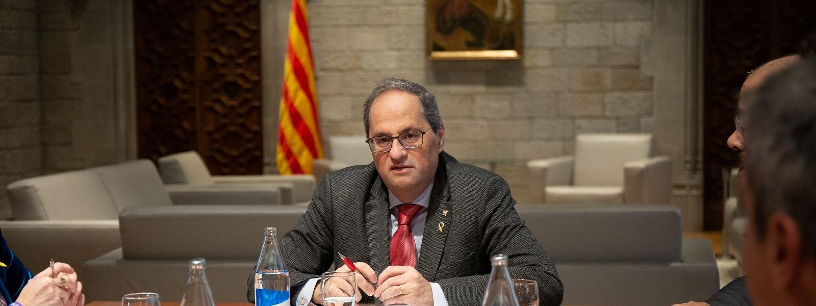 Katalonien Sperrzone