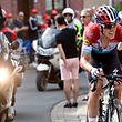 Bob Jungels (Quick-Step) auf dem Weg zu seinem Erfolg bei Liège-Bastogne-Liège 2018 - Foto: Serge Waldbillig