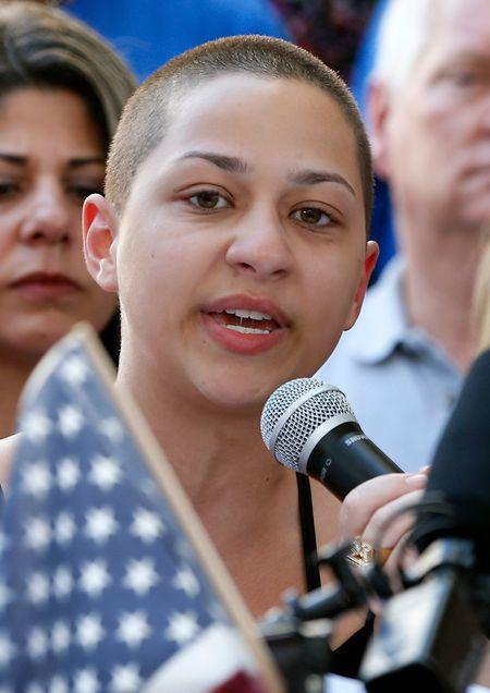 Gonzalez gehört zu einer Generation von Schülern, die mitgeprägt wurde vom Massaker an der Columbine High.