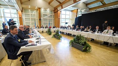 The Cyprus peace talks open in the Swiss resort of Crans-Montana.