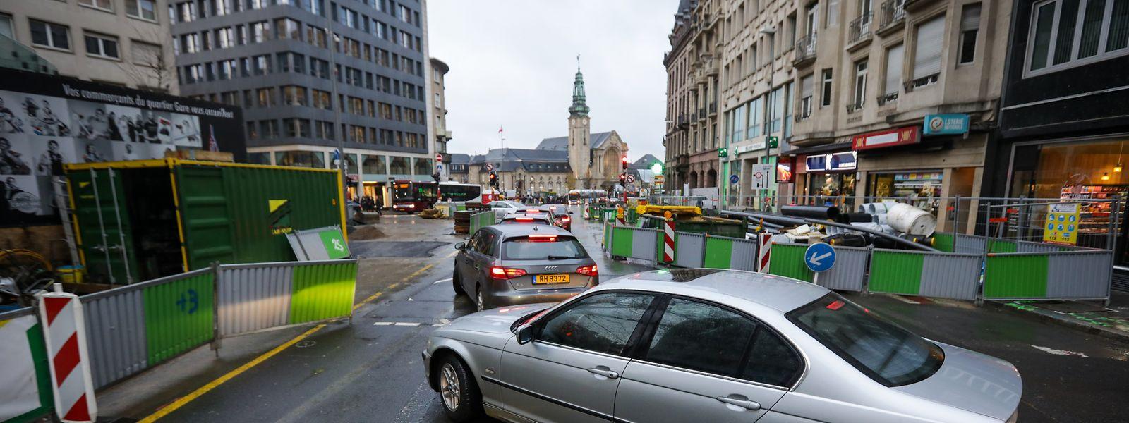 Die Baustellen und die damit verbundene Verkehrssituation werden auch 2020 noch ein Thema in der Hauptstadt sein.