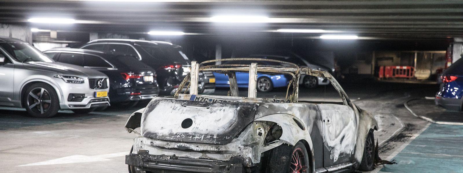 Nach dem Brand in der Tiefgarage am Rousegäertchen gibt es mehr Fragen als Antworten.