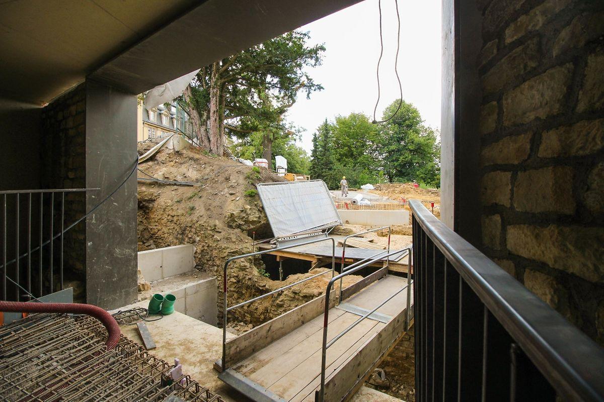 Die Ausfahrt zur Place de Metz hin wird kommende Woche Form annehmen.