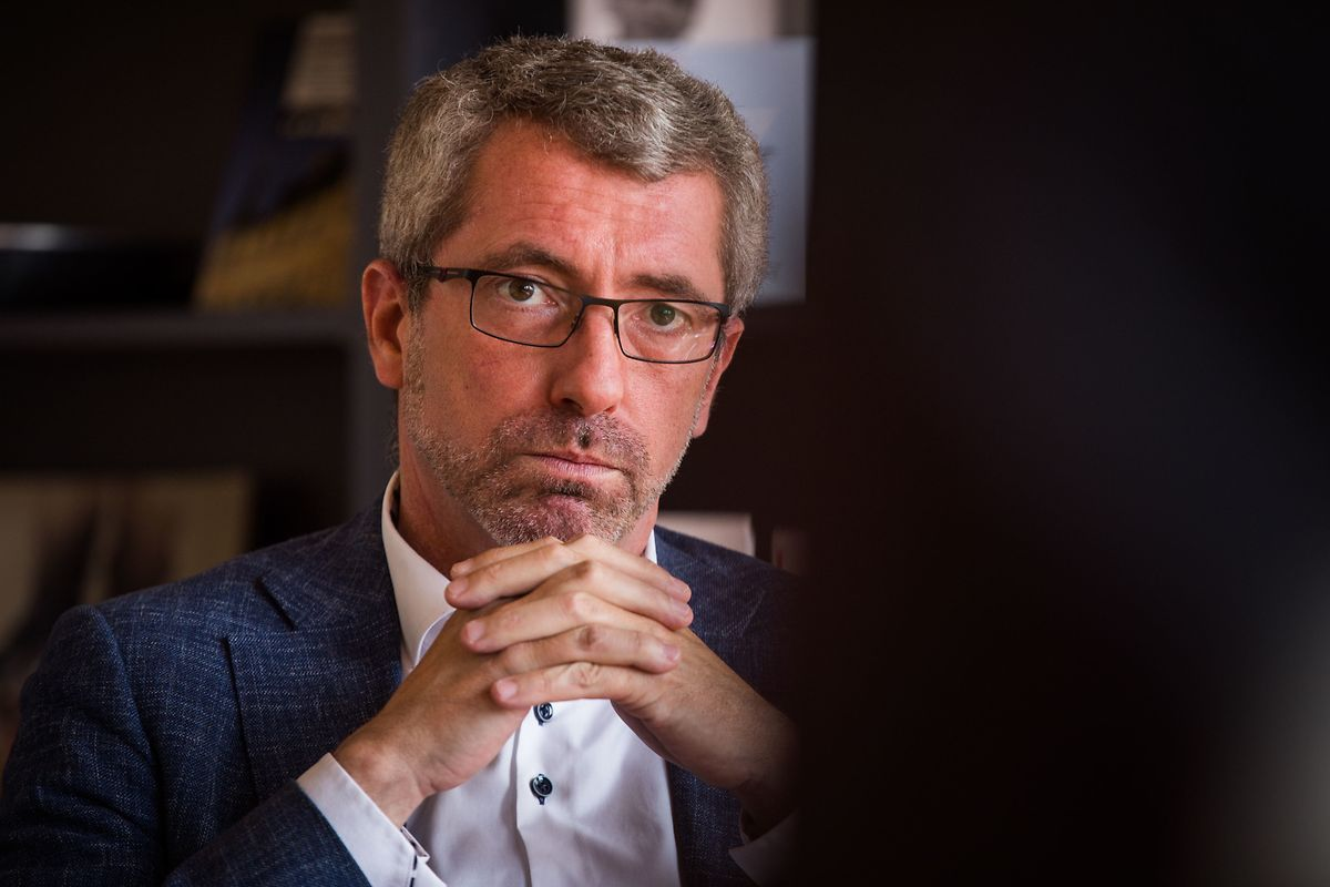 CSV-Parteipräsident Frank Engel.