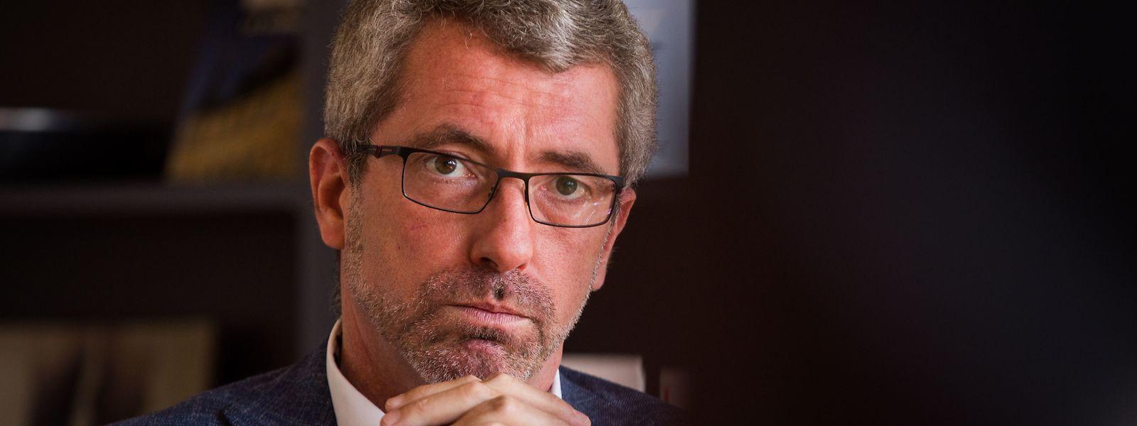 Le mandat de Frank Engel à la tête du CSV court jusqu'au printemps 2021.