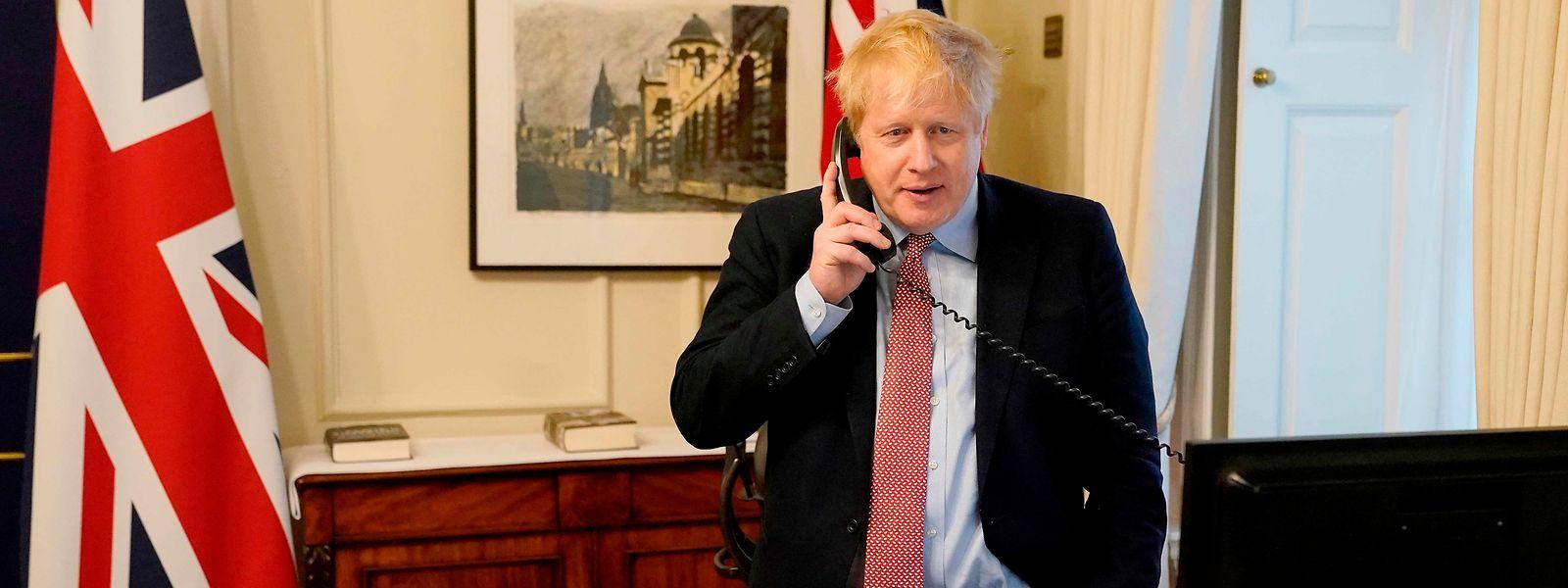 Johnson - wie er selbst sagt - hat nur leichte Erkrankungssymptome.