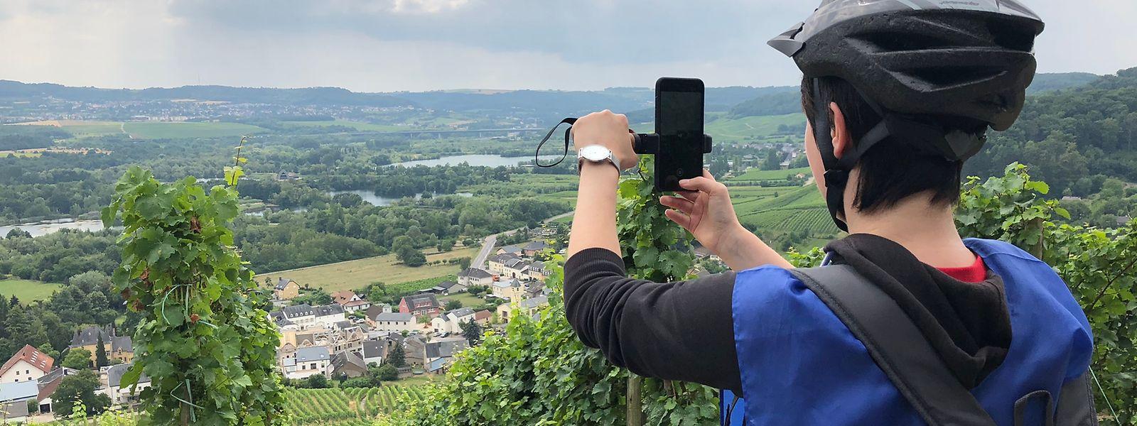 En haut du Felsberg