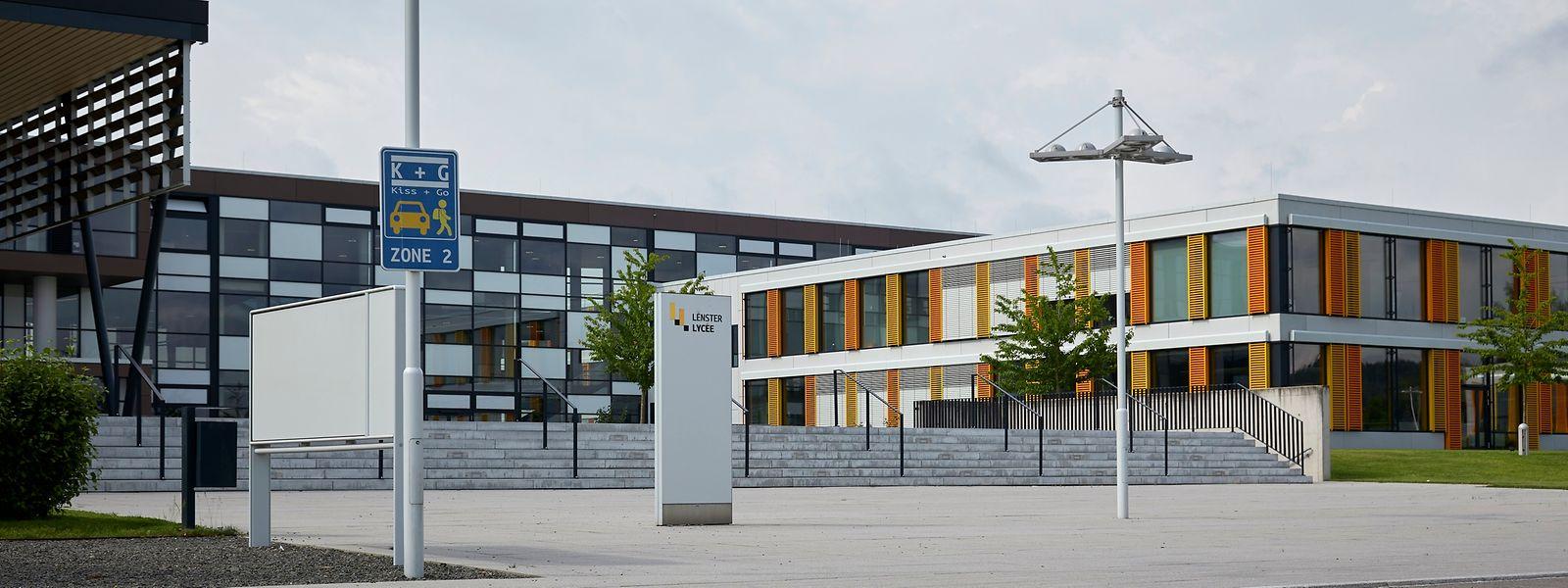 Im Lënster Lycée werden zurzeit 800 Schüler unterrichtet. Zur Rentrée im September kommen zusätzliche Schüler aus der International School Junglinster hinzu.