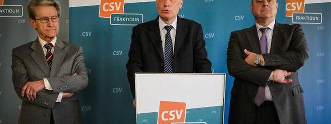 Le CSV réclame une transparence totale de la part de Xavier Bettel dans cette affaire lors d'un point presse ce mardi matin.