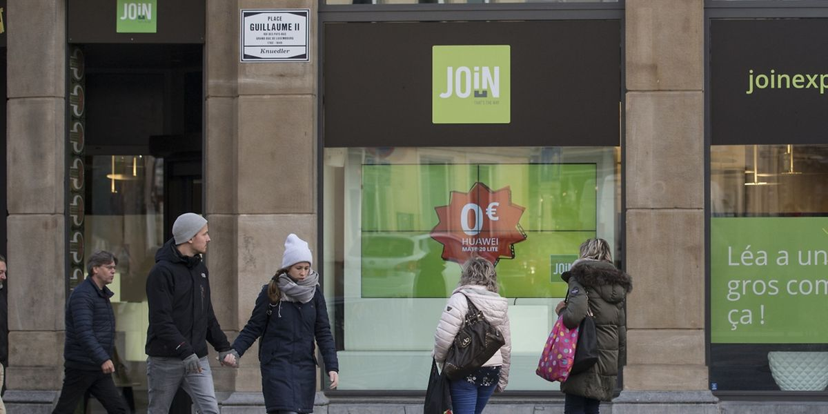 Sur la place Guillaume II, la boutique de Join a changé