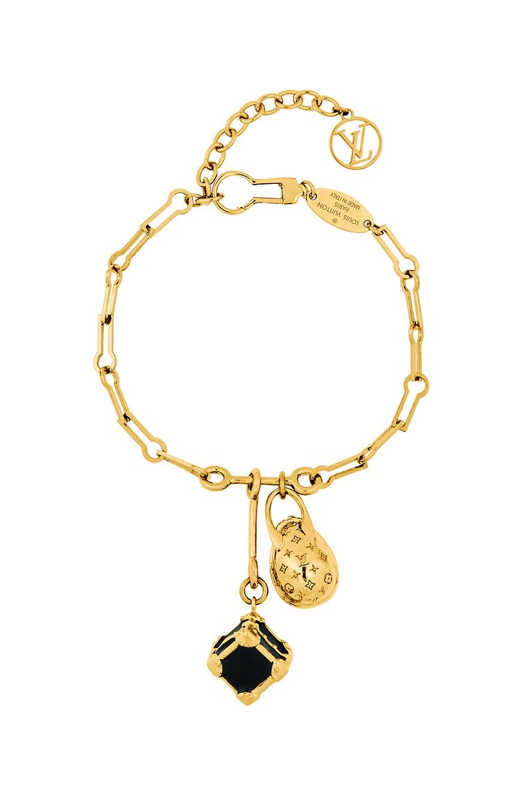 """""""Minigram Bracelet"""" von Louis Vuitton, um 395 Euro."""