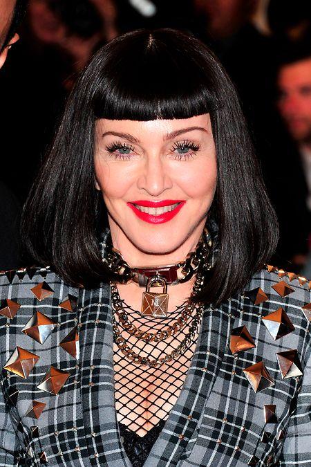 Besonders wandelfreudig in Sachen Stil und Haarfarbe zeigt sich immer wieder Madonna.