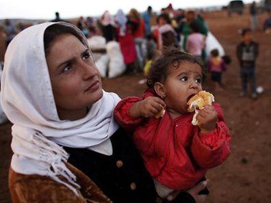 Für zahlreiche syrische Flüchtlinge ist die Türkei nur ein Transitland.