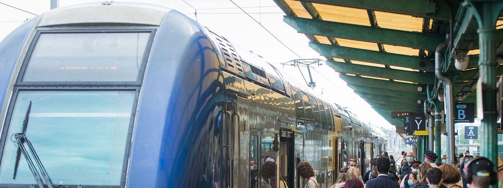 Le trafic ferroviaire était perturbé depuis le début du mois en raison des travaux sur le tunnel Rangwee.