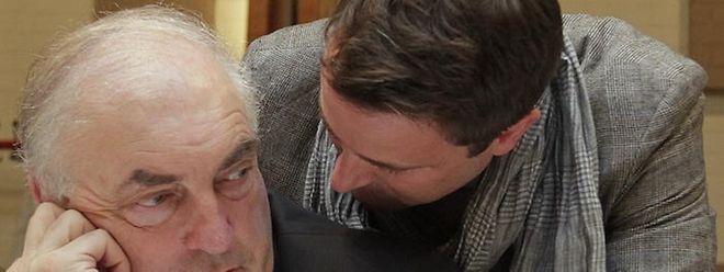 Charles Goerens (links) will weder Mitglied einer Dreierkoalition noch einer Regierung mit CSV werden.