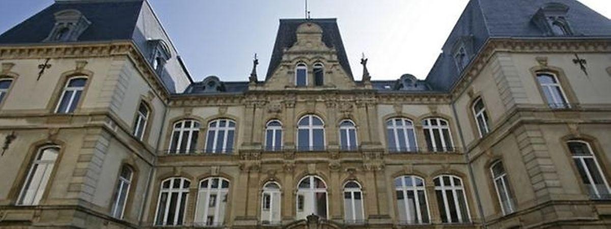 L'ancien Palais de Justice de Luxembourg.