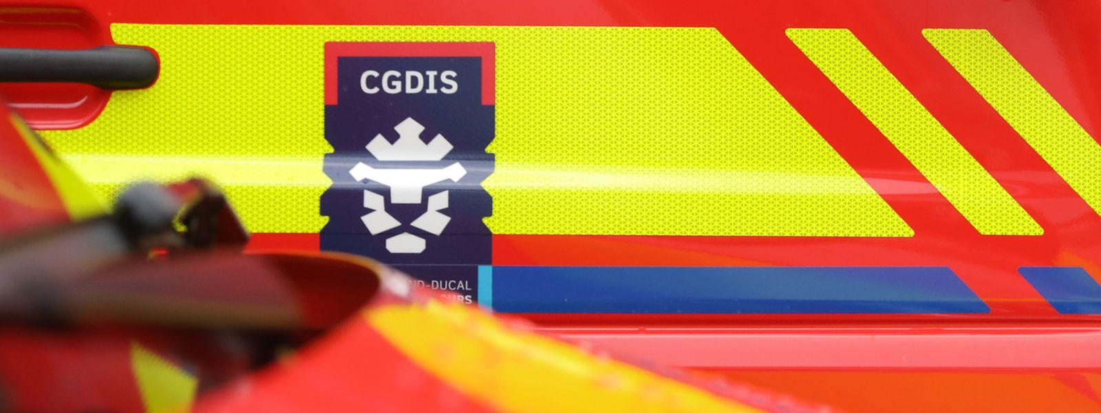 Einsatzkräfte des CGDIS kümmerten sich um die zwei Wuhan-Rückkehrer.