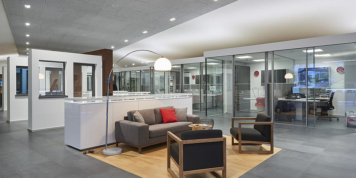 A Troisvierges, les produits de Norbert Keller sont présentés dans un showroom de plus de 2.000 m2
