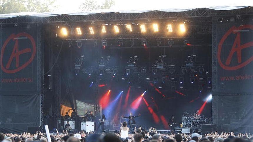 Das Rock-A-Field lockt jedes Jahr Tausende Musikfans nach Roeser.