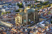 La cathédrale de Metz est l'un des monuments incontournables de la ville de Metz.