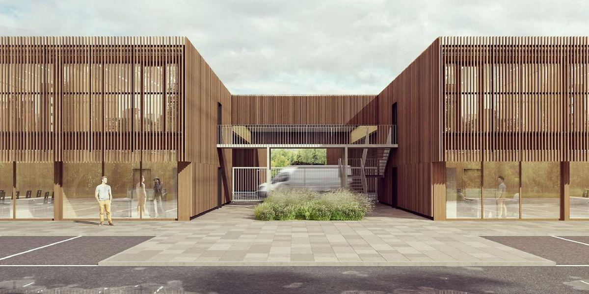 Drei Kompetenzzentren des luxemburgischen Handwerks bekommen in Bettemburg ein eigenes Zuhause.