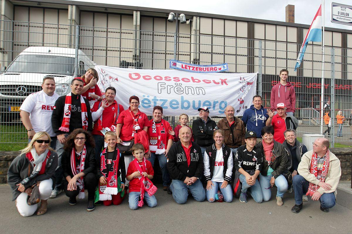 Auch in Luxemburg zählt der 1.FC Köln zahlreiche Anhänger.