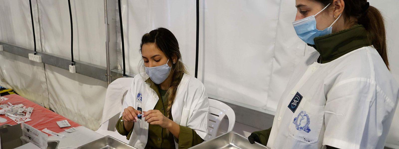 Israel führt die weltweite Impfstatistik derzeit an.