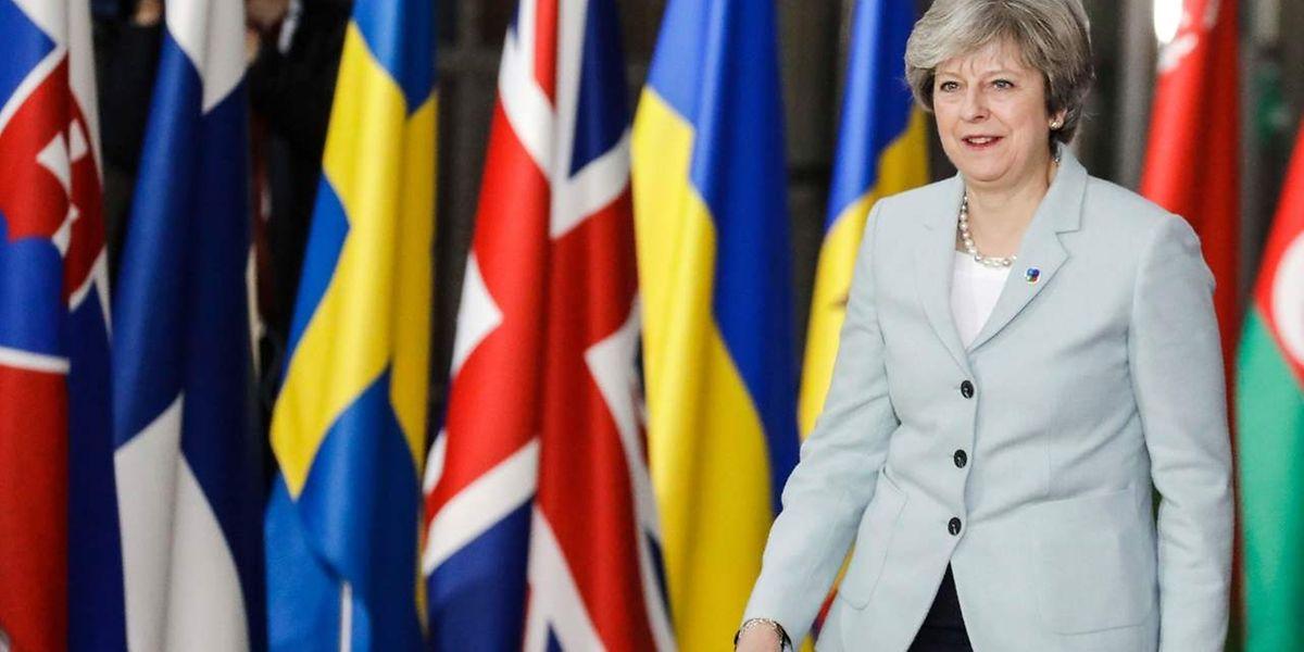 Theresa May rechnet mit einer Schlusszahlung von über 40 Milliarden Euro.