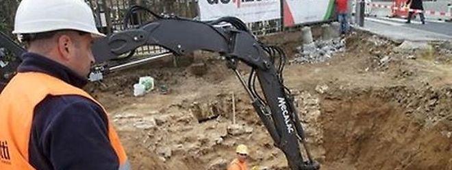 Der Fund der Überreste der Neipuertskapell in Limpertsberg hatte die Arbeiten in Limpertsberg ins Stocken gebracht.