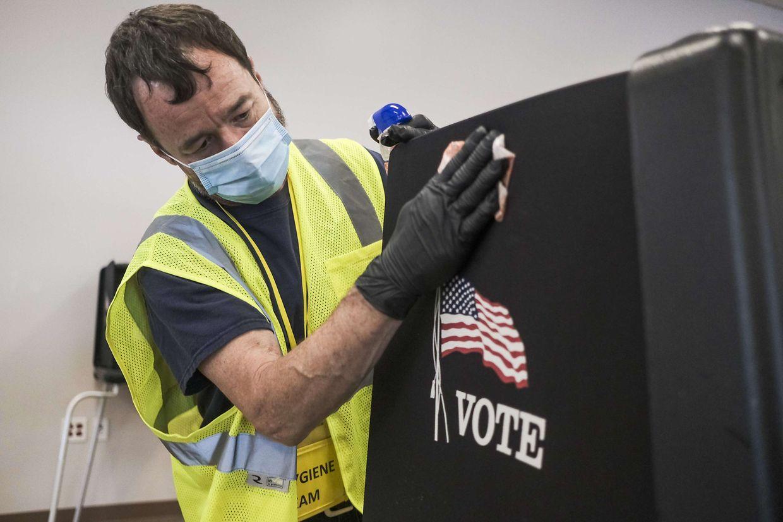 Die Vorwahl in Ohio fand wegen der Pandemie unter besonderen Sicherheitsvorkehrungen statt. Viele Wähler gaben ihre Stimme per Briefwahl ab.