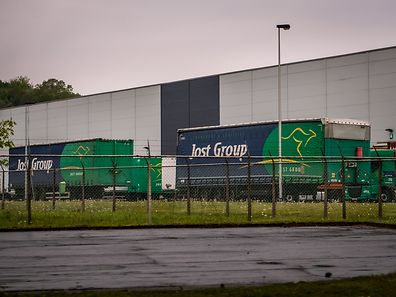 Jost Group Transport Logistics Aubange Belgique Foto: LW-Archiv 2016
