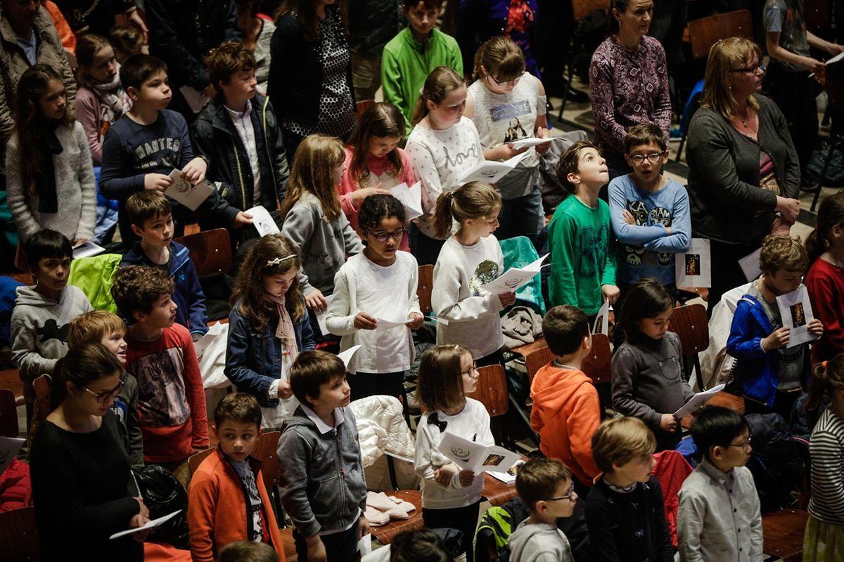 Messe für die Schulen von St.-Sophie.