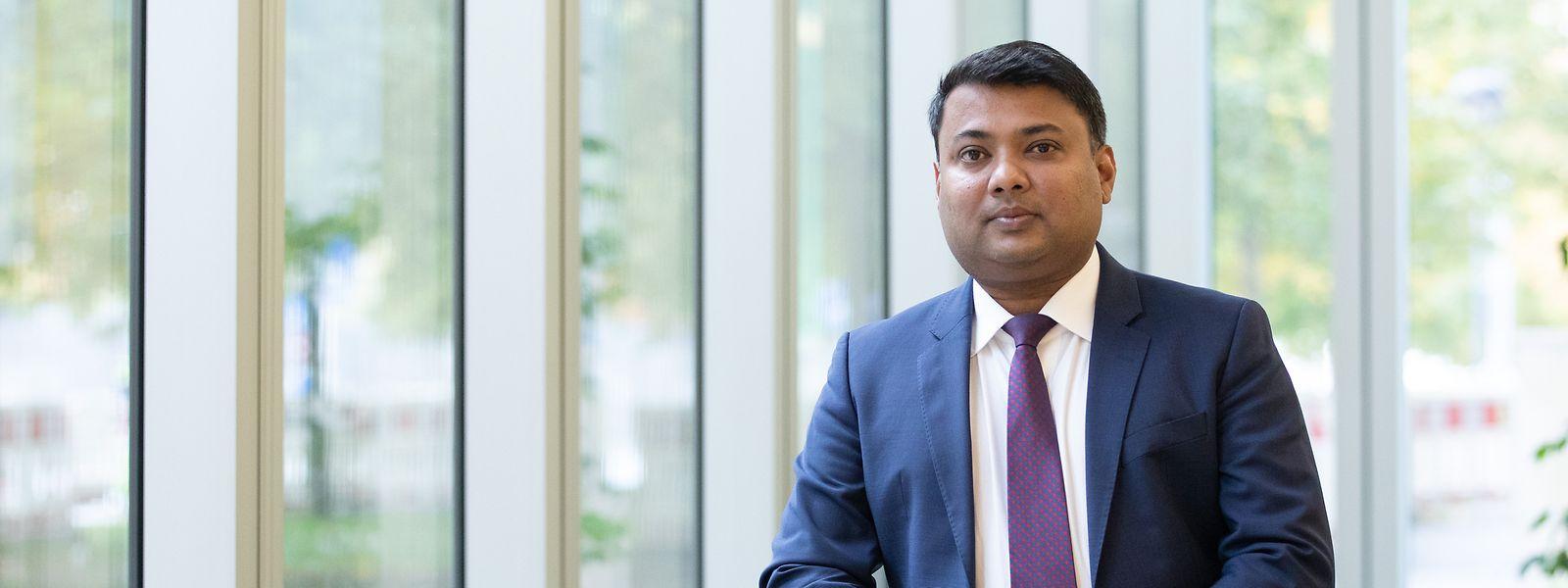 Sachin Vankalas ist seit 2019 Direktor von LuxFLAG.