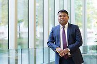 Wirtschaft, Luxflag neuer Direktor Sachin Vankalas Foto: Chris Karaba/Luxemburger Wort