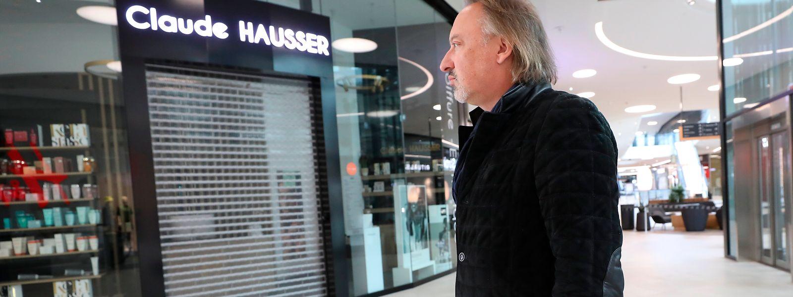 Claude Hausser a fermé ses deux salons à Messancy, car «je ne veux pas mettre mes employés en danger»