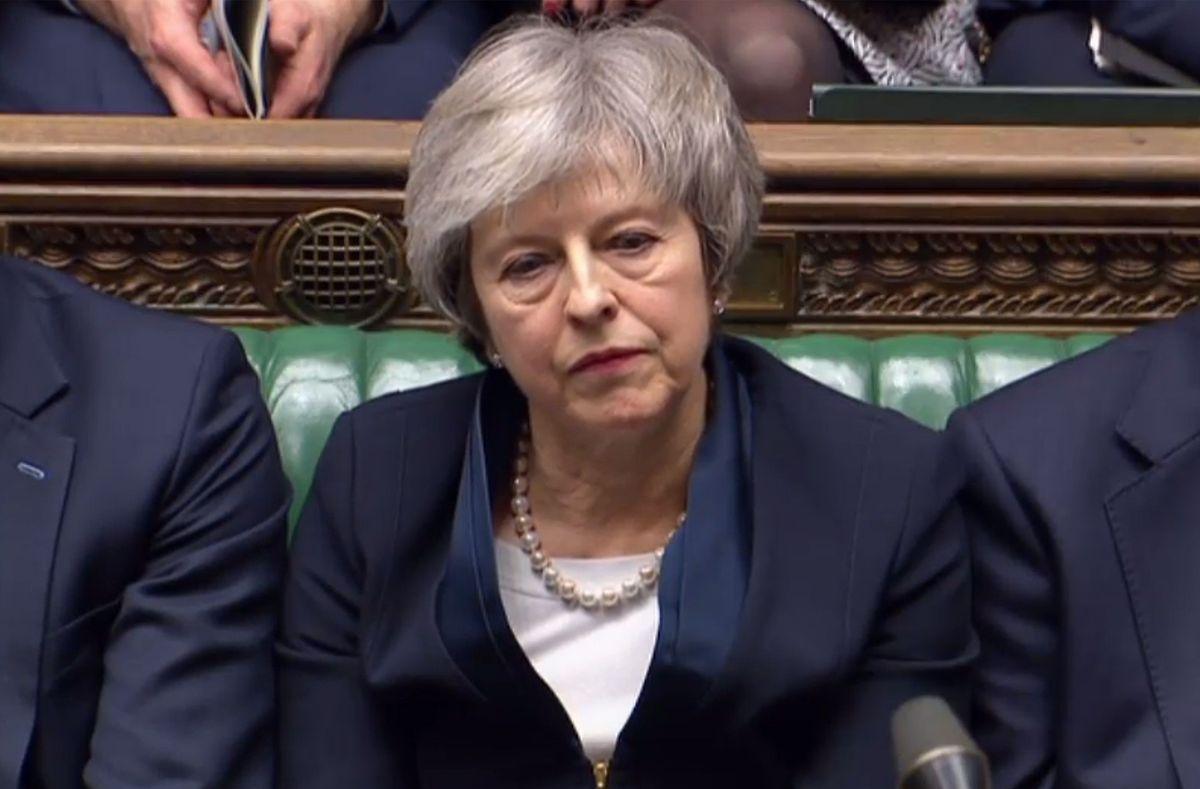L'inconnue résidait plutôt dans l'ampleur de la défaite, qui influera sur la marge de manœuvre de Theresa May.