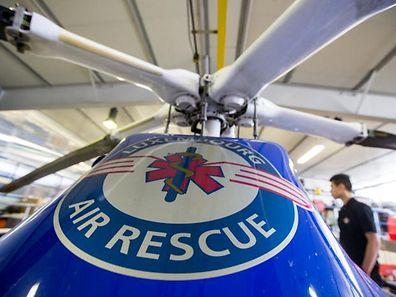 Un hélicoptère d'Air Rescue est intervenu.