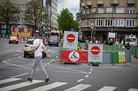 Lokales- Traffic  - Chantier Gare - Foto: Pierre Matgé/Luxemburger Wort