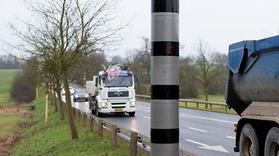 In total 34,509 speeding incidents were reported, of which 33,107 were recorded by fixed speed cameras.