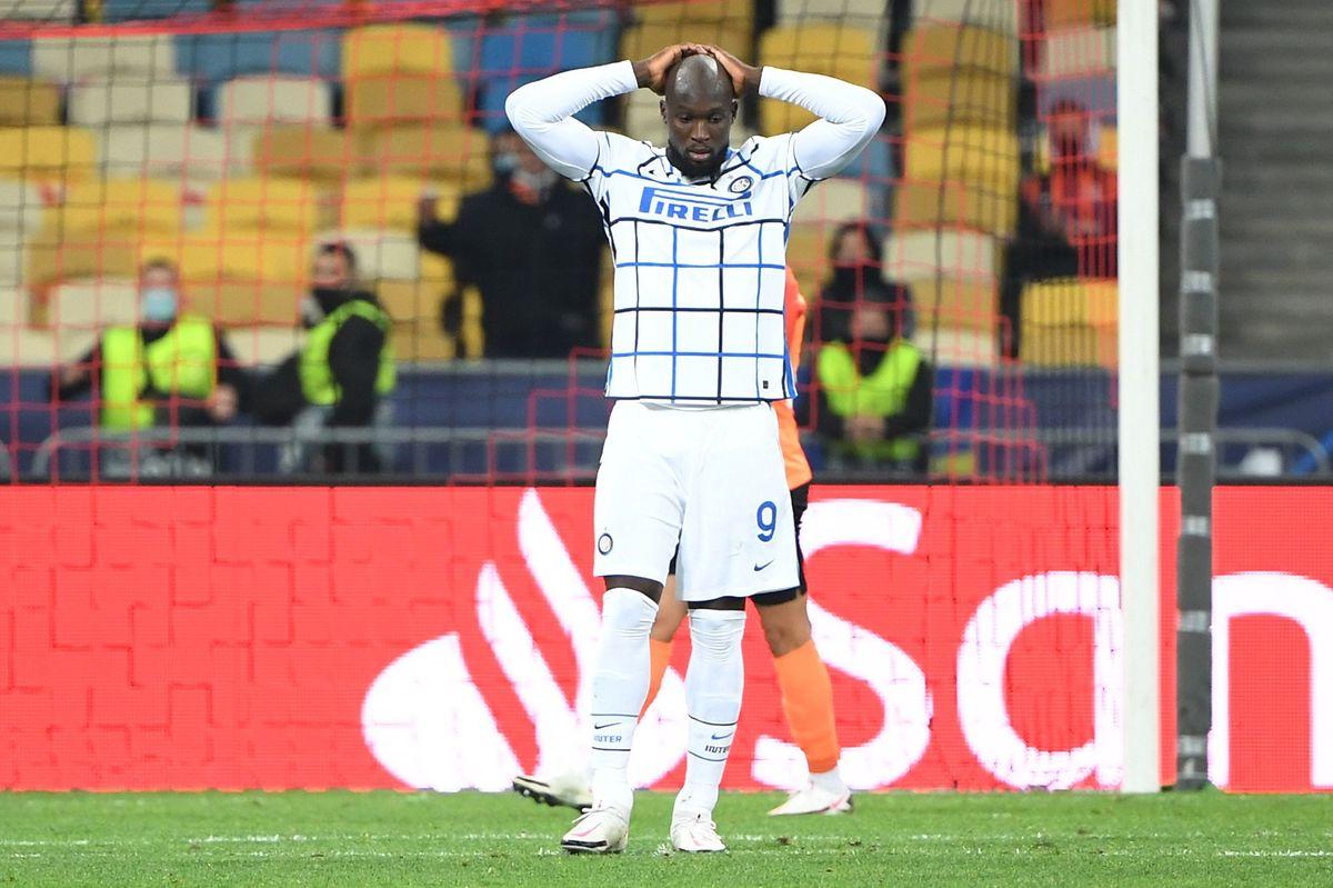 Inter-Stürmer Romelu Lukaku ist am Dienstagabend nicht treffsicher.