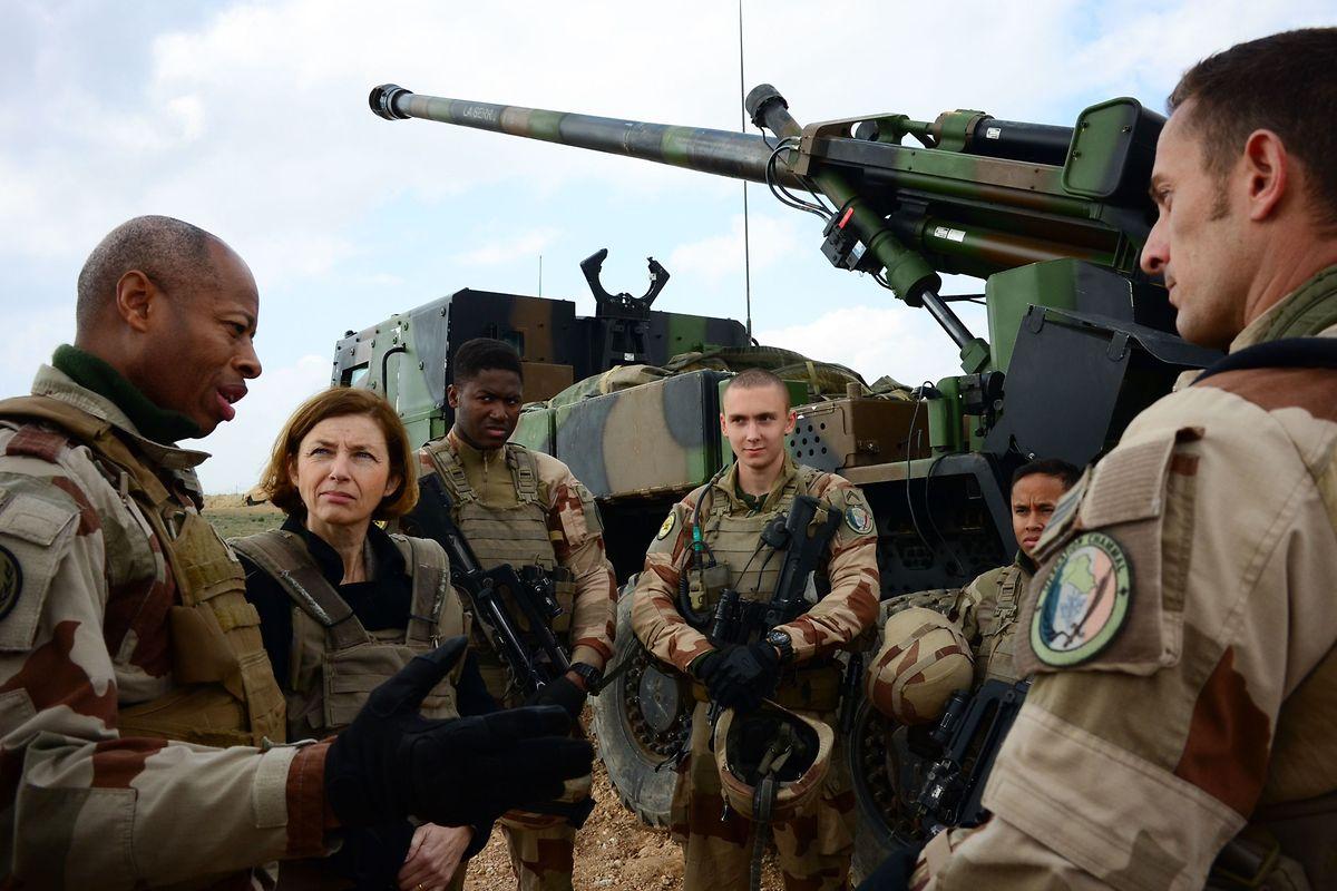 «La fin est proche», a lancé samedi la ministre française des Armées, Florence Parly, en déplacement auprès des troupes françaises.