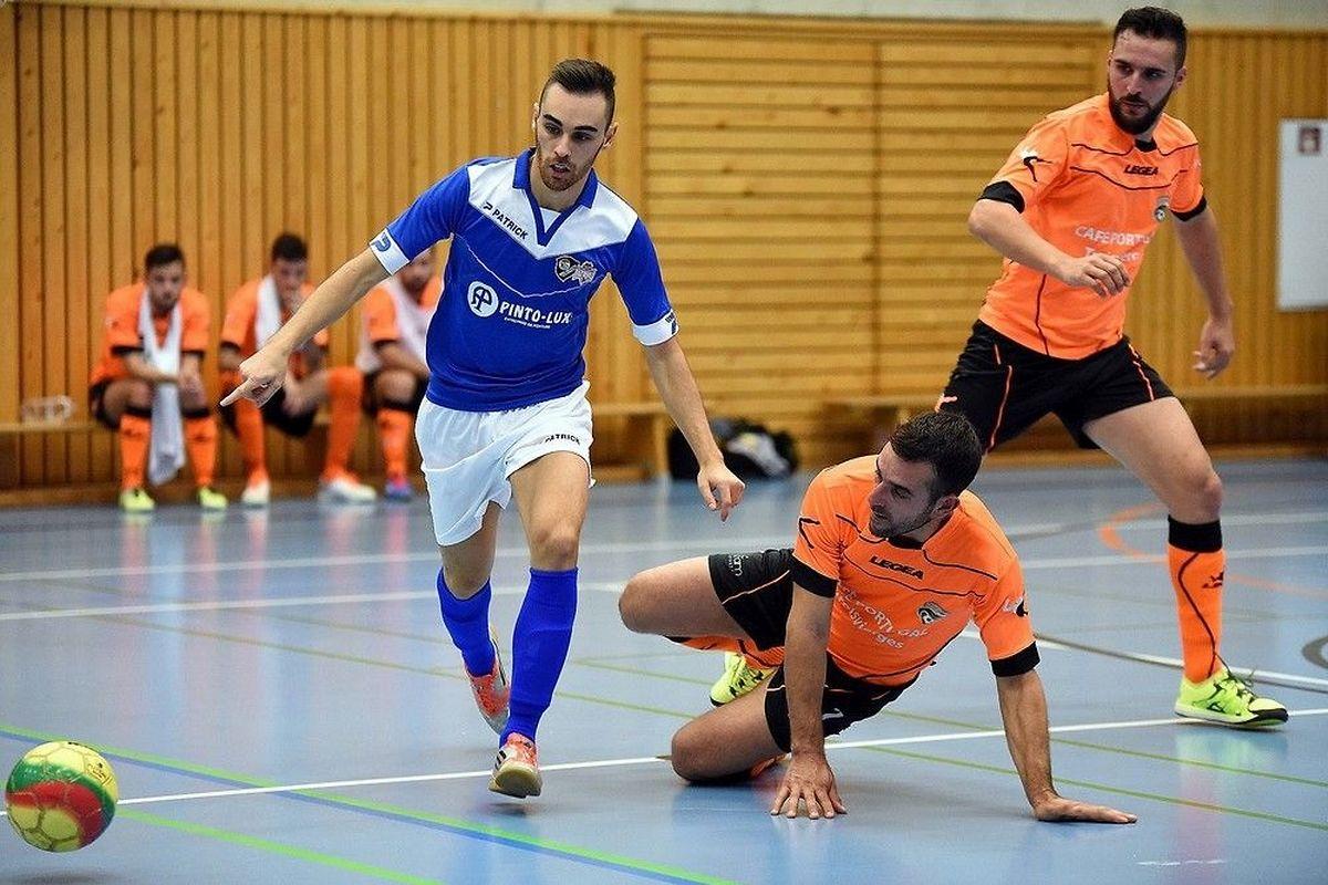 Jérôme Pereira et Garnich ont pris la mesure de l'Amicale Clervaux Futsal II de Vitor Moreira.
