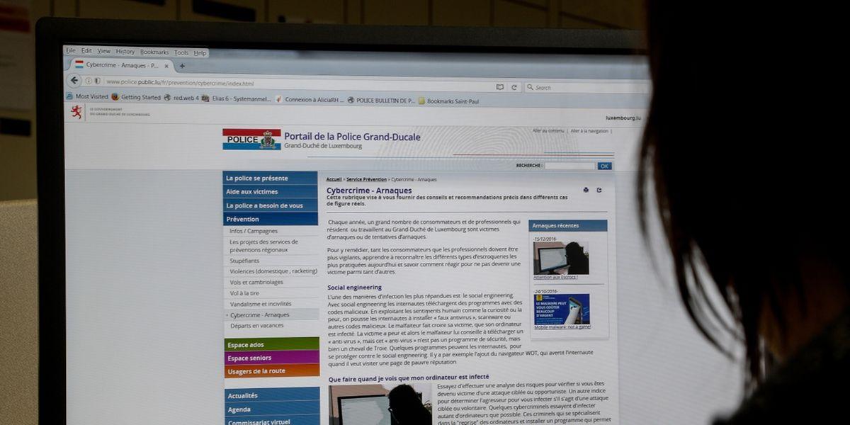 Die Polizei gibt auf ihrer Homepage Tipps, wie man sich vor Cyberkriminalität schützen kann.