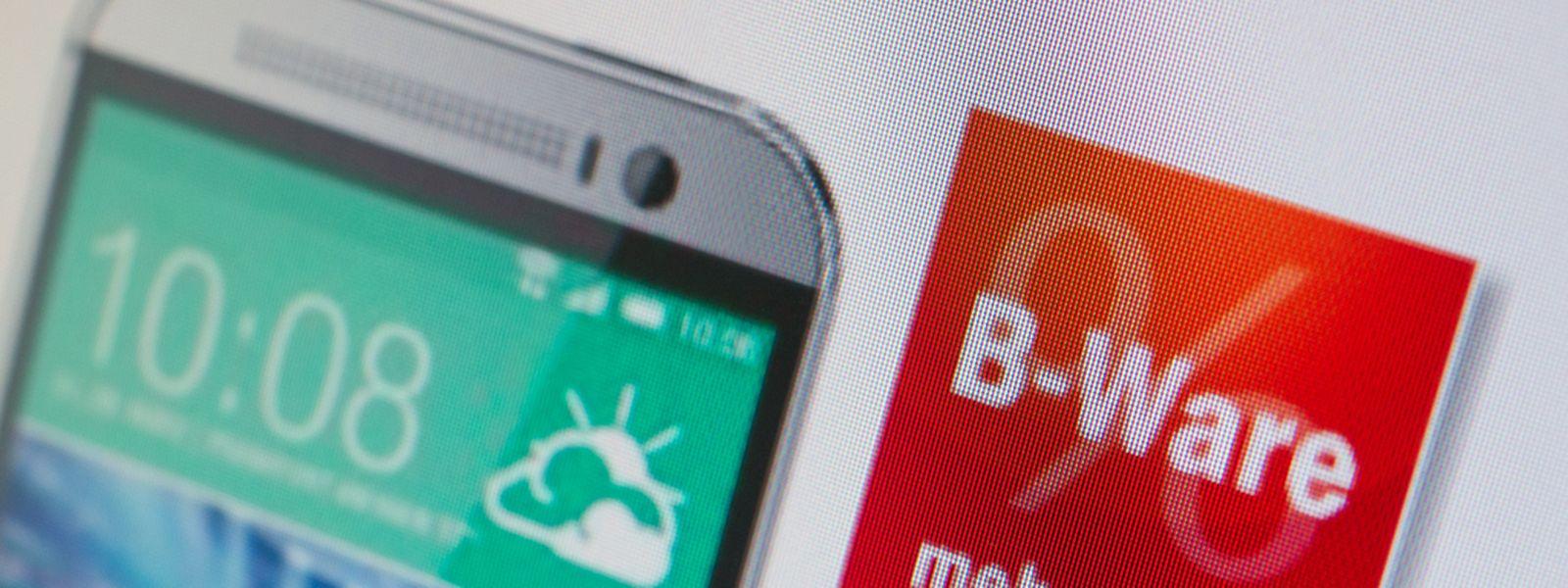 Teures Smartphone auf einmal zum Kampfpreis? Wer mit B-Ware sparen will, sollte sich vor dem Kauf gut informieren.